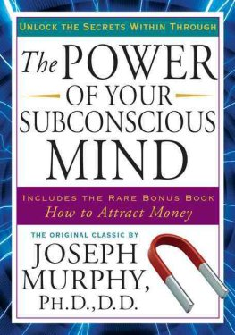 The Power of Your Subconscious Mind Image