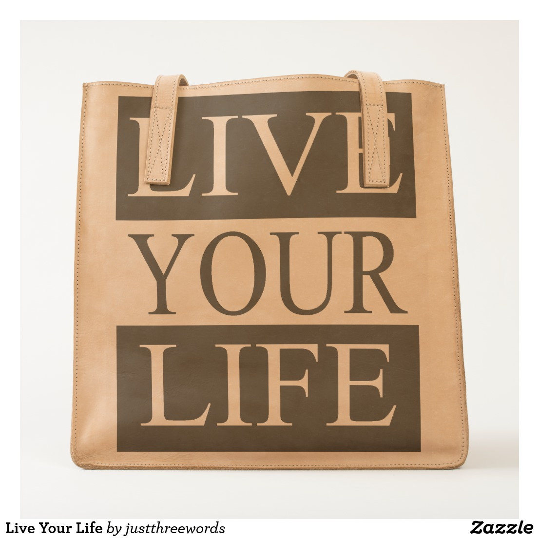 Live Your Life Tote Image